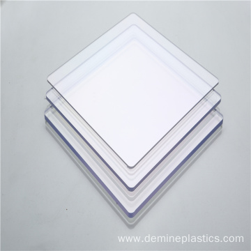 Clear transparency solid polycarbonate sheet wall partition